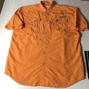 Columbia PFG Men Sz Large Vented Fishing Shirt